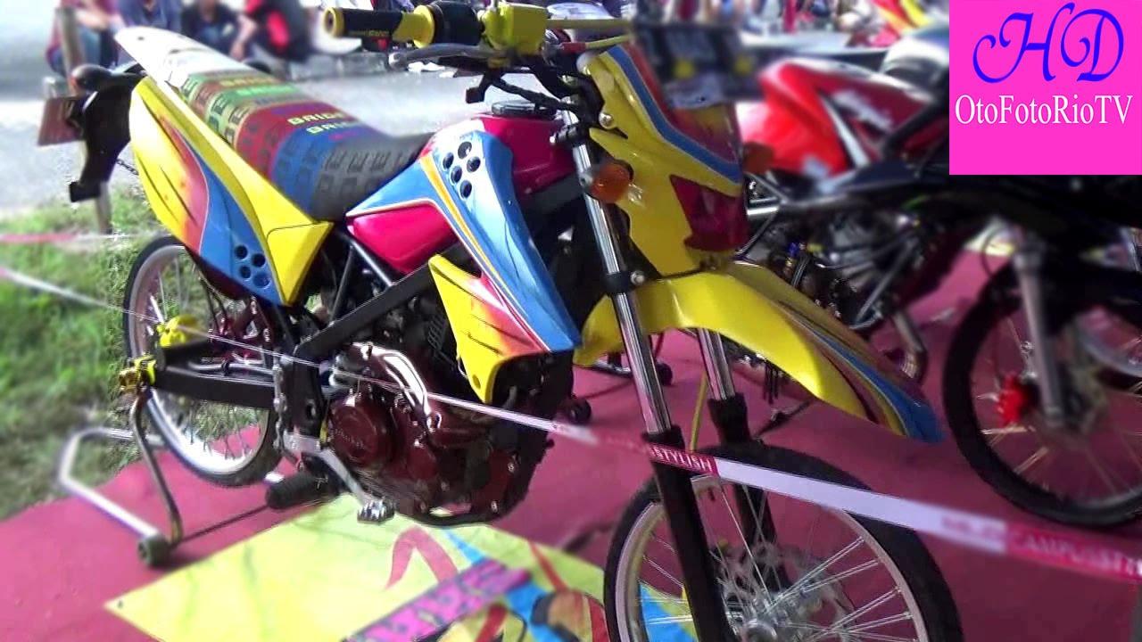 Kawasaki KLX 150 MOdifikasi Street Racing