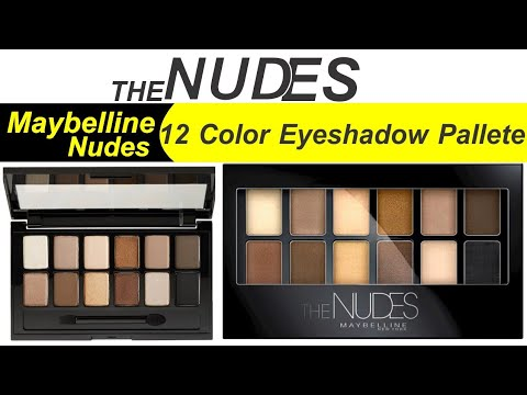 the-nudes-maybelline-new-york-12-colors-eye-shadow-pallet-full-review-in-urdu/hindi