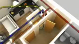 Вентиляция квартиры с рекуперацией тепла.(, 2013-03-21T05:34:50.000Z)