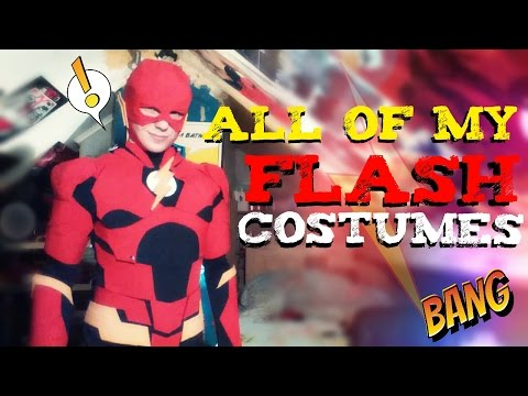 All of My Flash Costumes | Review