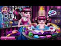 Monster High Baby Wash - Monster High Draculaura Baby Care Game