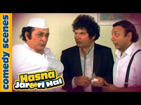 Asrani Laughter Riot - Hasna Zaroori Hai - Jaisi Karni Waisi Bharni - Indian Comedy