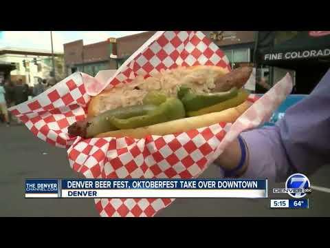 Denver Beer Fest, Oktoberfest take over downtown Denver