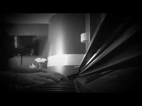 Young Frankenstein theme on piano strings voice