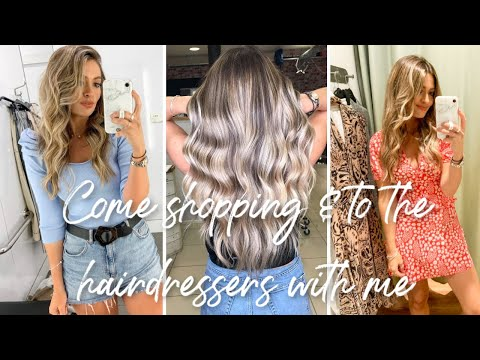 COME SHOPPING & TO THE HAIRDRESSERS | TOPSHOP | RIVER ISLAND HAUL