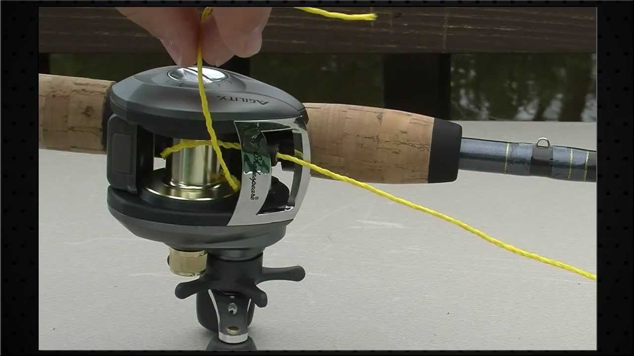 Shakespeare How To Spool A Baitcast Reel Dunham S Sports Youtube
