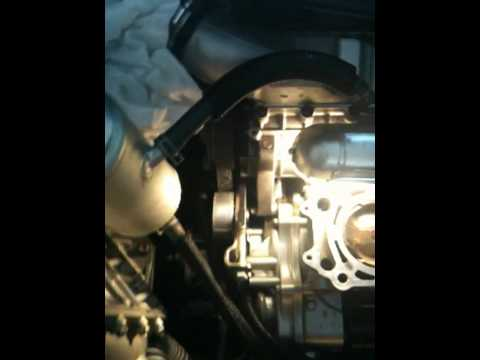 kawasaki ultra 260x stuck spark plug engine disassembly - youtube