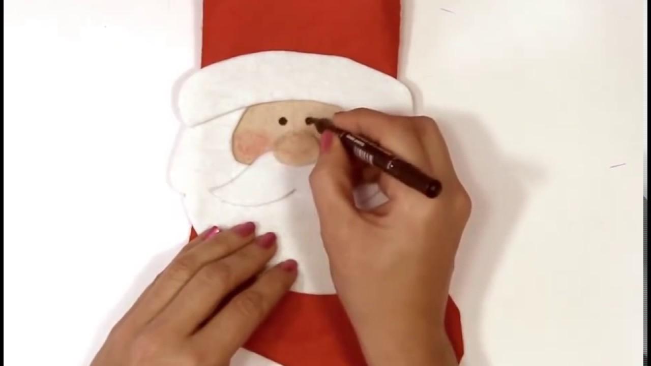 Weihnachtsmann Selbst Basteln Youtube