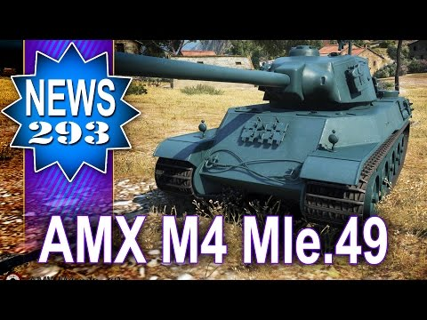 AMX M4 Mle.49 - nowa ciężka franca - NEWS - World of tanks