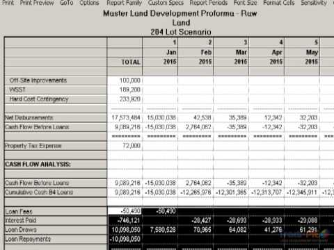 Land development software for easy and accurate projections - Tract-PIE