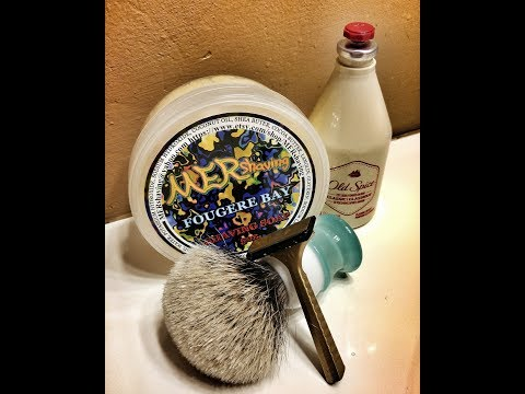 KAI Disposable Razor and MERshaving Fougere Bay