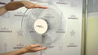 Вентилятор напольный Scarlett SC-176. Обзор. Описание напольного вентилятора Scarlett.