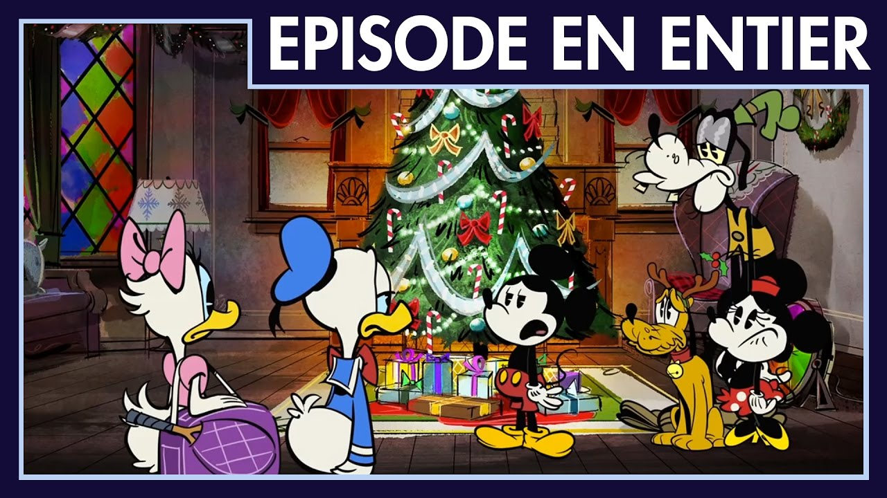 Mickey Mouse Joyeux Noel Mickey Et Donald Premieres Minutes