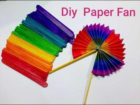 Easy! Diy Paper Fan