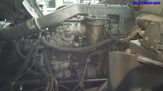 UD(Nissan Diesel) PF6(Turbocharged) Engine View