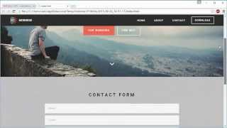Contact Forms - Mobirise Site Builder Software v2.0 thumbnail
