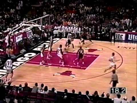 95/96 Chicago Bulls vs Indiana Pacers (29.12.1995.)
