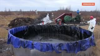 Сотрудник ЧОПа запрещает снимать на нефтеразливе Лукойла(, 2016-10-01T21:51:28.000Z)