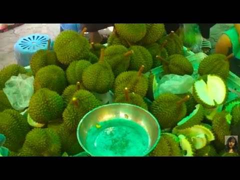 Asian Street Food, Buying Foods In Cambodian Market, Market Street Food In Asia