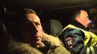 Пьяный водитель маршрутки попал в ДТП(, 2014-01-28T09:19:28.000Z)