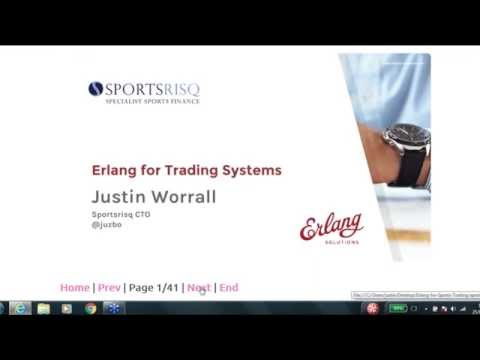 Erlang for Trading Systems
