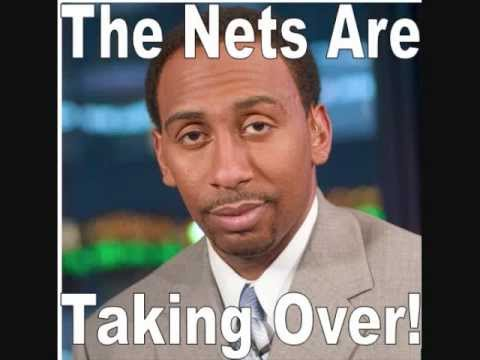 Stephen A Smith - The Nets are coming to take over New York Rant [2012]