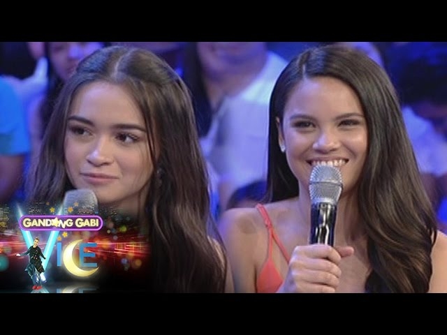 GGV: Leila Alcasid and Angelina Cruz as a fan