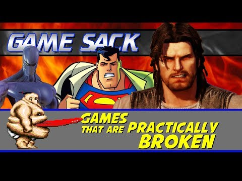 Games That Are Practically Broken - Game Sack
