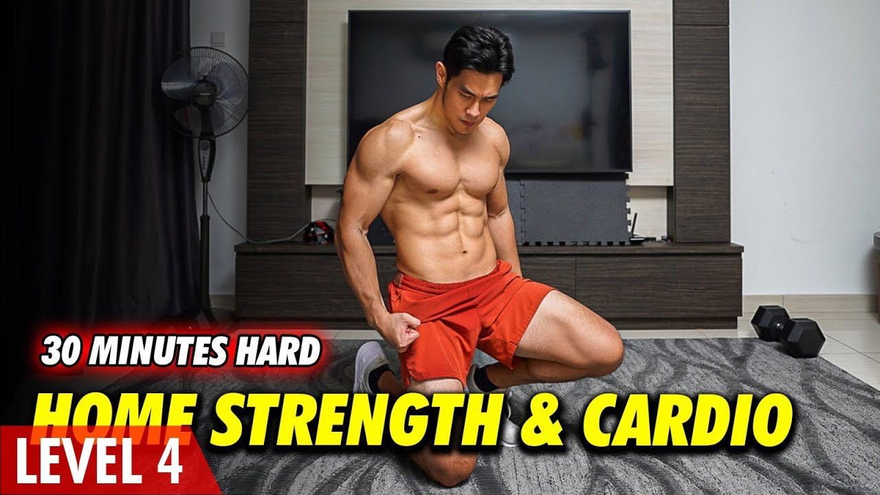 30 Minutes Guided Home Strength & Cardio   (Level 4)
