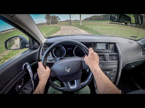 Renault Latitude   POV Test Drive #499 Joe Black