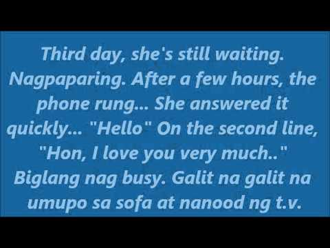 TAGALOG LOVE STORIES