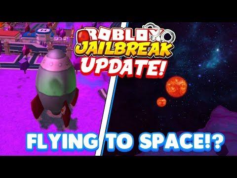 🔴ROBLOX JAILBREAK new update! | Jailbreak UFO Jailbreak Easter Egg | UFO's Alien's Space and MORE!