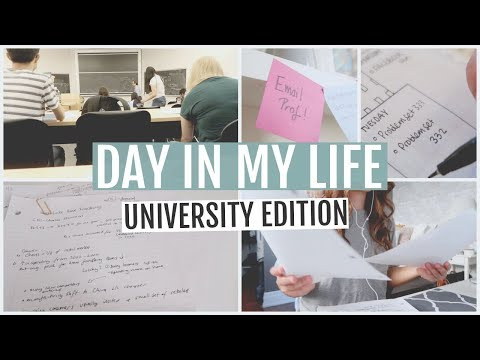 DAY IN MY LIFE: UNIVERSITY STUDENT // TORONTO