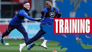 Sprint Races, Foden's Two-Touch Skills & Prowsey's Finishing 🎯 | Inside Training | England