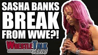 WWE LIE About Evolution Match! Sasha Banks On 'A Break' From WWE!   WrestleTalk News Oct. 2018