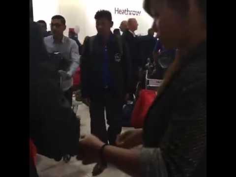 Nepali Cricket Team Arrived At London