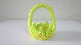 TUTORIAL - 3D Origami Basket