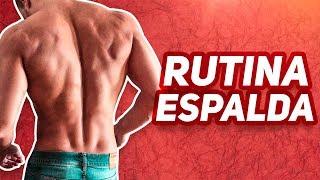 RUTINA DE ESPALDA - Ejercicios de espalda con mancuernas