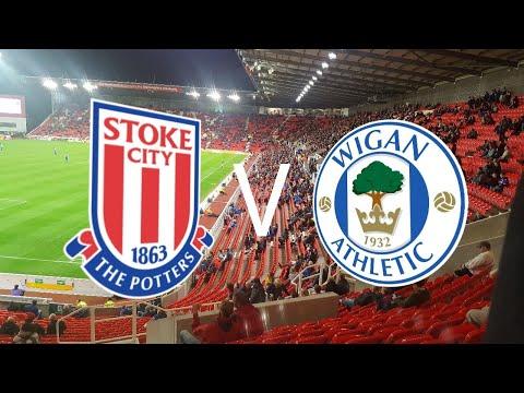 Stoke City VLOG vs Wigan Athletic
