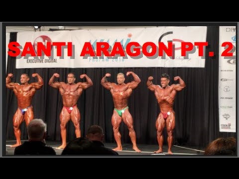 PART 2:  SANTI ARAGON'S PRO DEBUT AT THE MIAMI MUSCLE BEACH WITH MATT PORTER #2 of 3