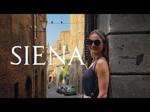 O que fazer em Siena em um dia? vlog de viagem na Itália