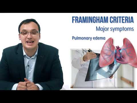 Heart failure: Framingham criteria