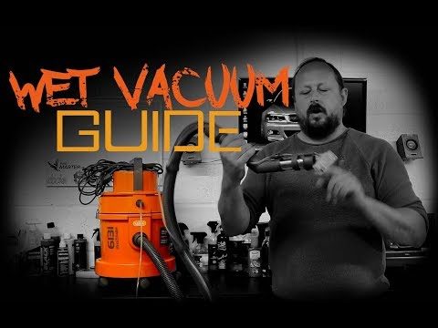 Wet Vacuum Carpet Shampooer - Detailing Essentials