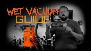 Wet Vacuum Carpet Shampooer - Detailing Essentials
