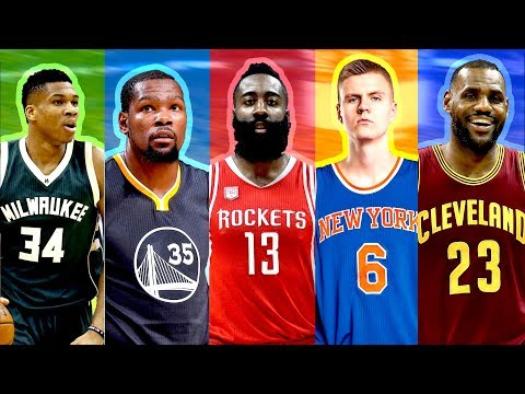 BEST NBA PLAYER FROM EACH TEAM