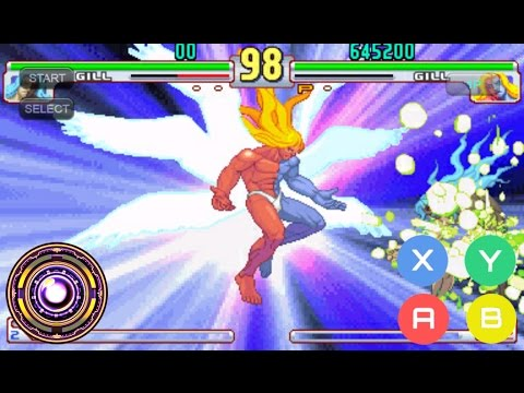 Street fighter 3rd Strike power hack para android (Fba4droid)