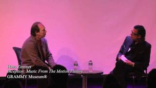 Hans Zimmer at the GRAMMY Museum (1)