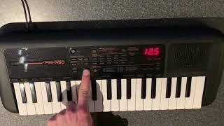 Yamaha PSS A50 - Jazz Multi Track