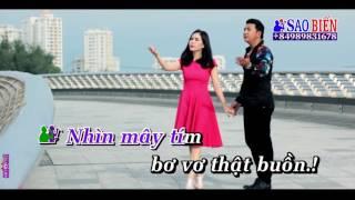 [Karaoke] Xin Lỗi Anh(Khang Lê ft Hồng Mơ)_Thiếu giọng nam~ Huong Bolero