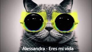Скачать Alessandra Eres Mi Vida Bass Boosted